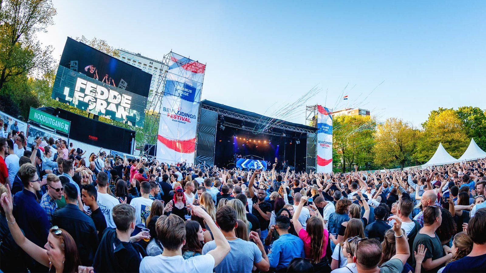 Bevrijdingsfestivals halen Europa naar Nederland